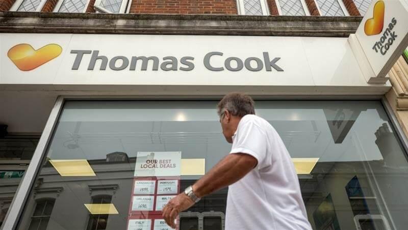Thomas Cook zbankrotuje a uvězní 600 XNUMX cestujících po celém světě