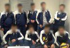 სირიელი მიგრანტები, რომლებიც უკრაინის ფრენბურთის გუნდში მონაწილეობენ, ცდილობენ ათენის აეროპორტში მოხვდნენ E