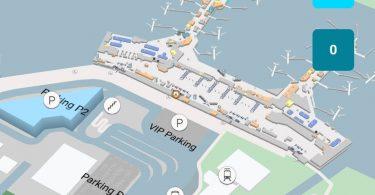 Moskva Domodedovo lufthavn afslører 3D lufthavnskort, der tilbyder ruteplanlægning