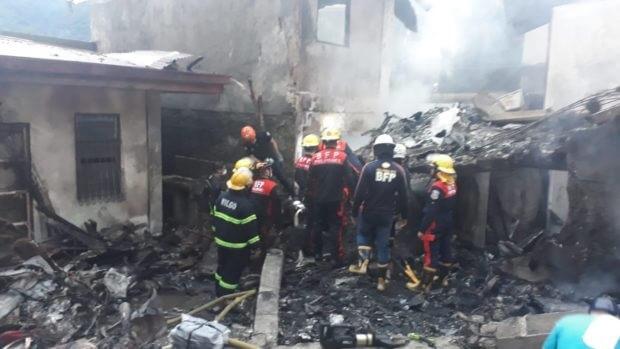 مقتل سبعة أشخاص في تحطم طائرة في منطقة منتجع قرب مانيلا