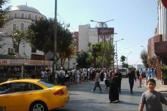 'Grande pânico': terremoto de magnitude 5.8 atinge Istambul