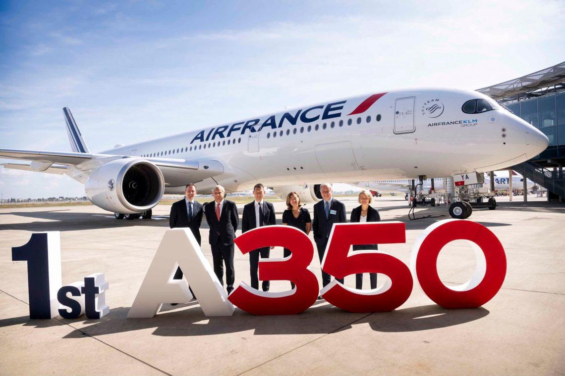 Air France recebe seu primeiro Airbus A350 XWB