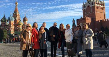 Russian Convention Bureau presenta oportunidades de turismo MICE a los participantes de la gira de prensa
