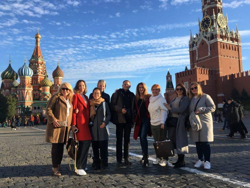 Russian Convention Bureau Presents Mice Tourism Opportunities To Participants Of Press Tour