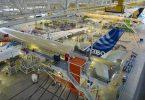 Airbus: Bedriuw bloeide yn augustus