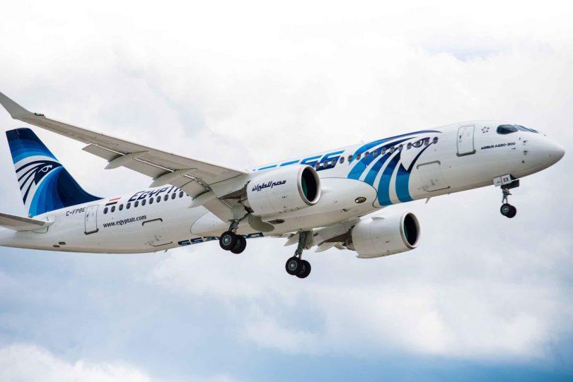 Τα πρώτα αεροσκάφη Airbus A220-300 παραδόθηκαν στην EgyptAir