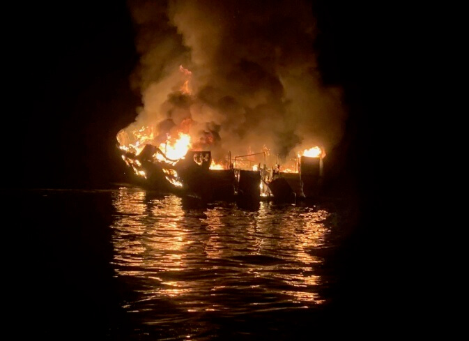 US federal search warrants served in California deadly dive boat fire investigation