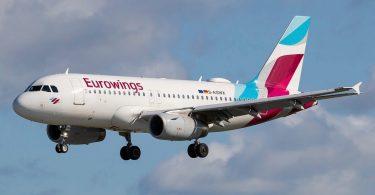 Ocho personas hospitalizadas tras el vuelo de Eurowings golpeadas por fuertes turbulencias