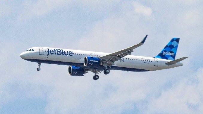 JetBlue tervehtii Guyanaa viimeisimmällä reitillä Airbus A321neo