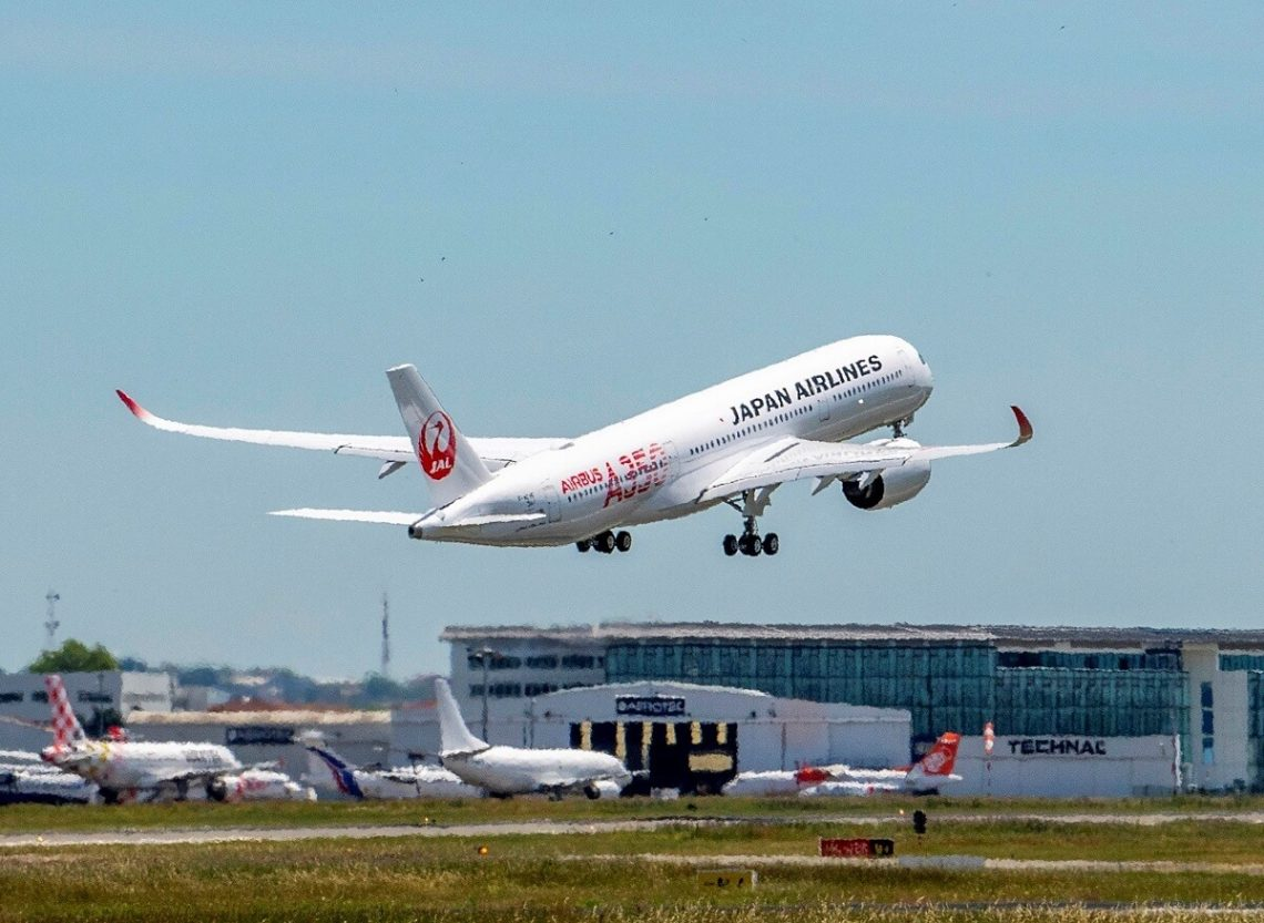 Japan Airlines transferindo voos de Moscou para o Aeroporto Internacional Sheremetyevo em 2020