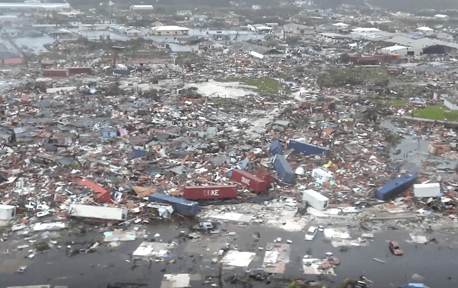 Delta Air Lines promesas 250,000 USD al la uragano Dorian de Bahamoj