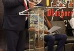 Alain St.Ange soti nan Sesel adrese AKWAABA Afriken mache vwayaj nan Nijerya