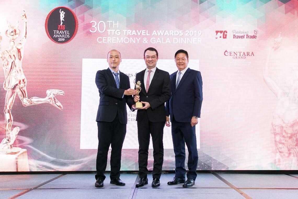 Centara homenageado com Prêmio de Melhor Hotel para Reuniões e Convenções pelo 5º ano consecutivo