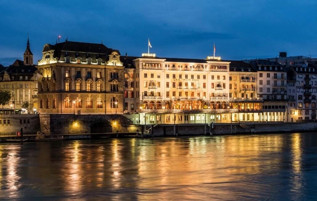 Basel: Permata Mahkota hotel dan pameran