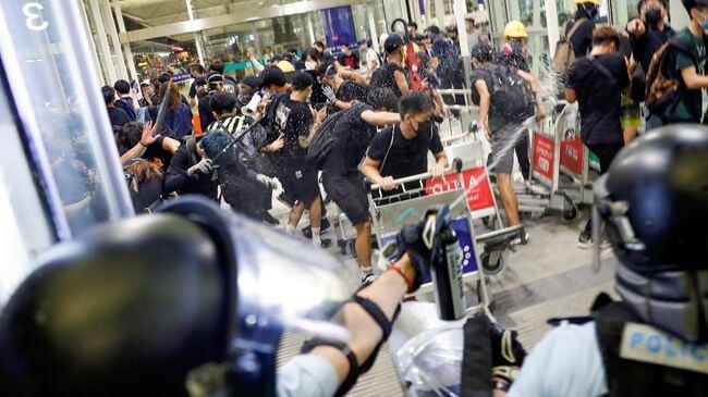 Hong Kong: um dia de luto