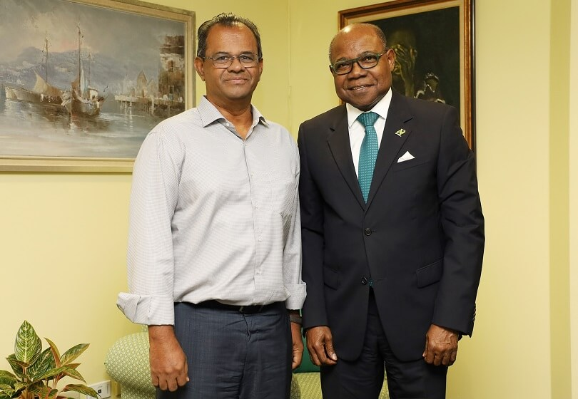 Tourism Minister Bartlett Meets with Jamaica Tallawah's Owner