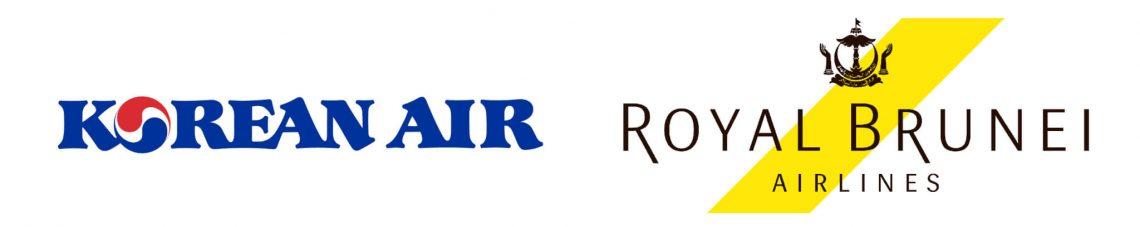 Koadeeshare-oerienkomst foar Korean Air en Royal Brunei Airlines