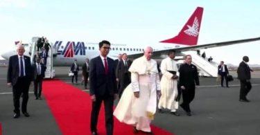 Pave Frans rejser til Mauritius, Mozambique og Madagaskar