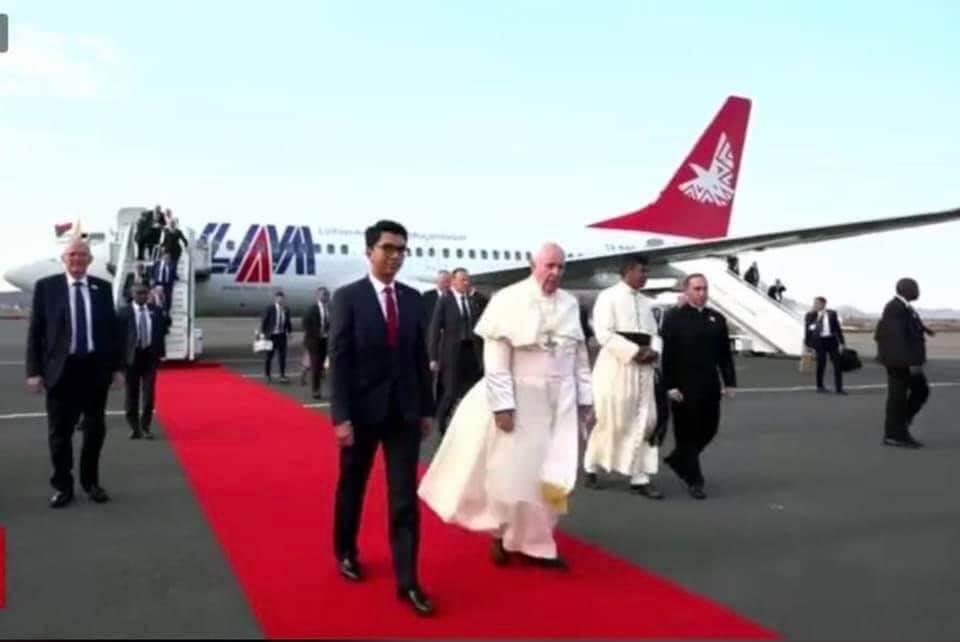 프란치스코 교황이 모리셔스, 모잠비크, 마다가스카르를 여행하다