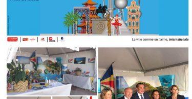 Seychellernes øer står meget værdsat under konsulære festligheder i Lyon