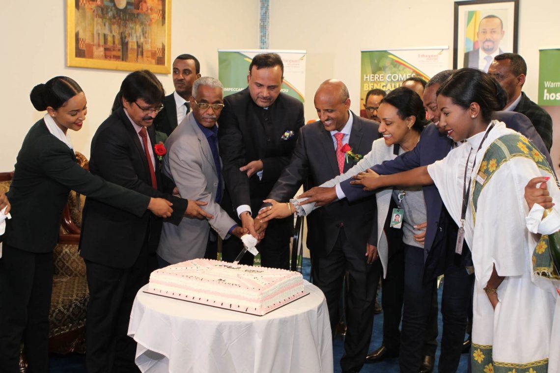 इथियोपिया एयरलाइंस अपने भारत नेटवर्क में बेंगलुरु को जोड़ती है
