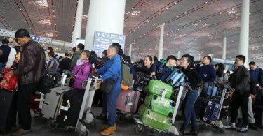 12.8 میلیون سفر: چین گزارش سفر هوایی رکورددار در تعطیلات روز ملی را داده است