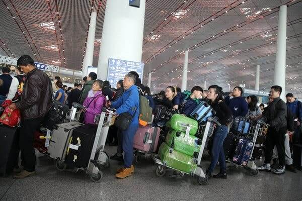 12.8 million trips: China reports record air travel during National Day holiday