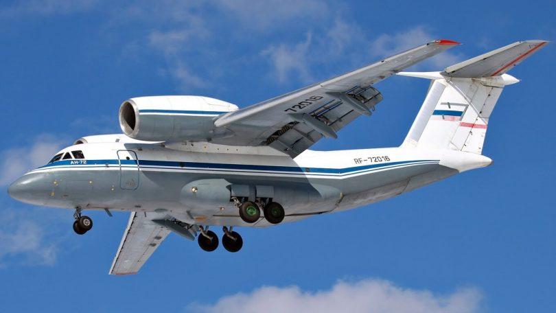 8 dræbte i et russisk flystyrt An-72 i Congo