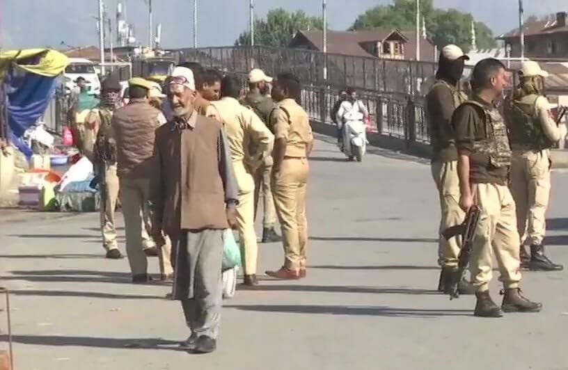 5 pessoas feridas em ataque de granada na área turística da Caxemira