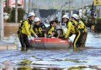 در اثر انتقاد شدید تایفون هاگیبیس از ژاپن ، 2 نفر کشته ، 70 نفر زخمی و 3 نفر مفقود شدند