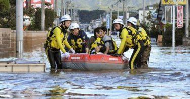 2 people killed, 70 injured, 3 missing as Typhoon Hagibis slams Japan