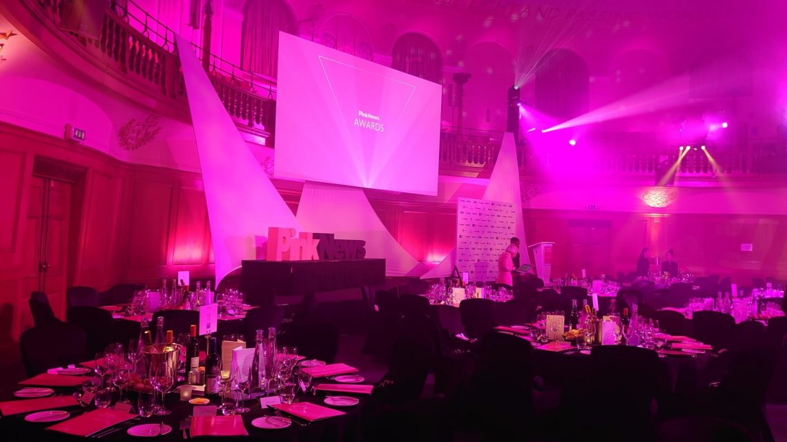 Church House Westminster hospeda o sétimo prêmio LGBT + PinkNews anual
