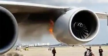 Los Angeles-bound A380 Superjumbo burns at Seoul Incheon Airport