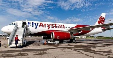 Първата бюджетна авиокомпания в Казахстан FlyArystan стартира маршрута Нур-Султан-Москва