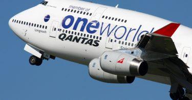 Ο συνταξιούχος Qantas Boeing 747 γίνεται με δοκιμαστική πτήση Rolls-Royce