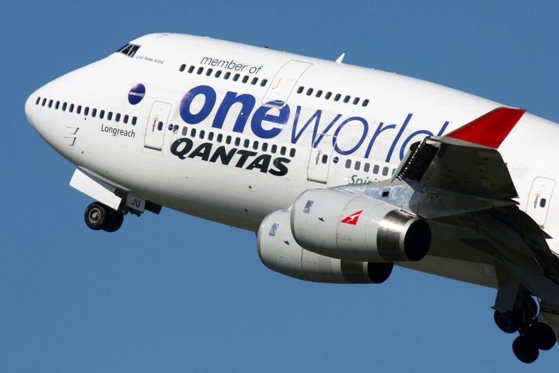 Důchodce Qantas Boeing 747 se stal létajícím testovacím stolem Rolls-Royce