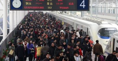 Čínská železnice: 2.8 miliardy cestujících v roce 2019