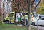 Keganasan di Oslo: Lima cedera sebagai lelaki bersenjata di celah ambulans yang dicuri oleh pengamat