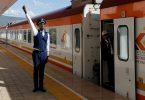 চীন দ্বারা সম্পূর্ণ অর্থায়িত এবং নির্মিত $ 1.5 বিলিয়ন রেলপথ প্রকল্প কেনিয়ায় খোলে