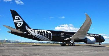 Ny United Airlines sy ny Air New Zealand dia mandefa sidina Newark-Auckland tsy miato
