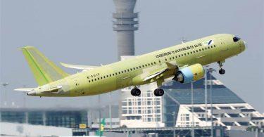 China's C919 large passenger jet prototype completes test flight in Shanghai