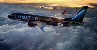 United Airlines joins forces with Star Wars