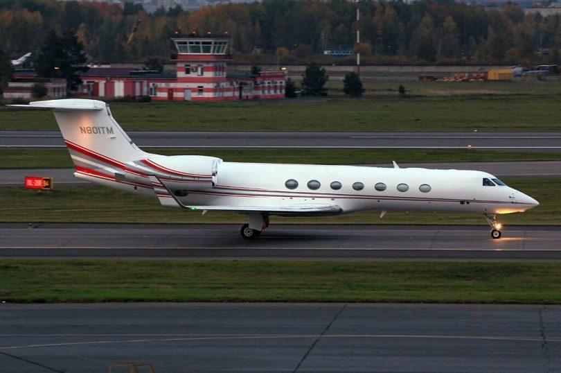 وانت بار با هواپیمای شخصی در فرودگاه پولکوو روسیه سقوط می کند