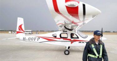 První čínské elektrické osobní letadlo úspěšně zahájilo první let