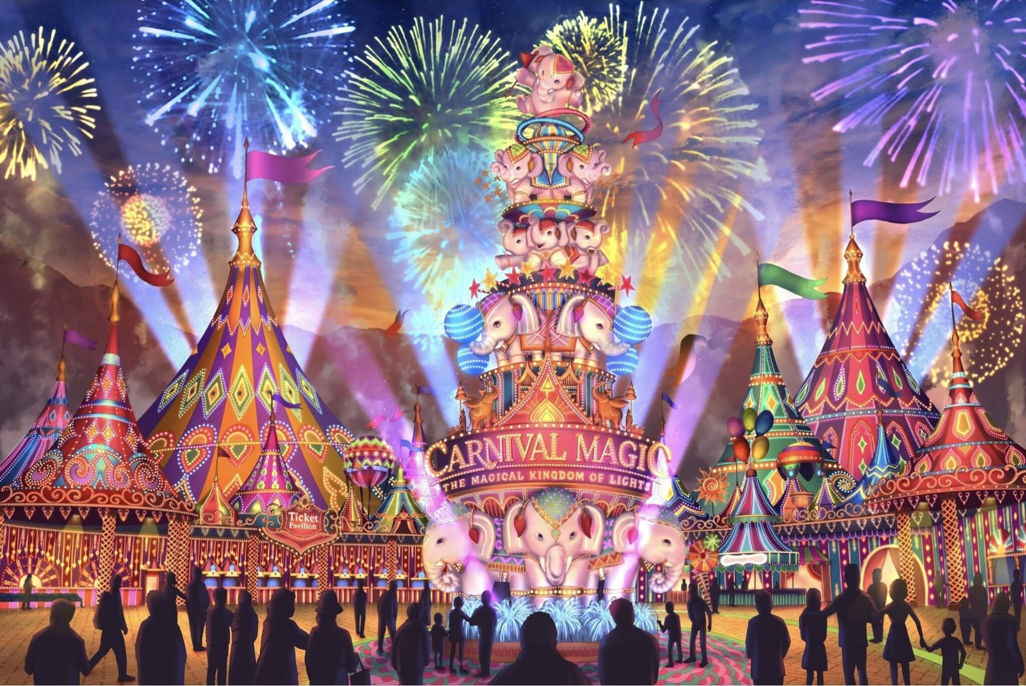 World's first Thai Carnival Theme Park opens in Phuket