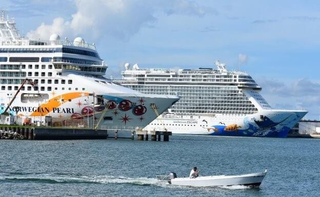 Port Canaveral: Dalších 38 volání do přístavu za poslední dva měsíce roku 2019