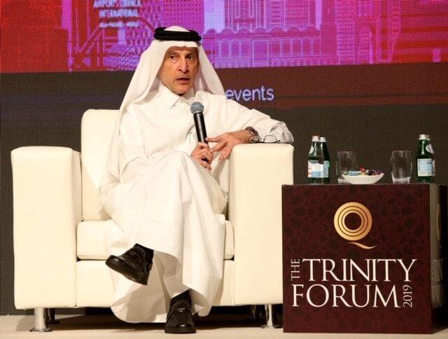 Qatar Airways Group byder industriledere velkommen til Trinity Forum 2019