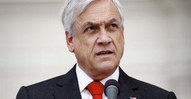 Chilský prezident Sebastian Pinera