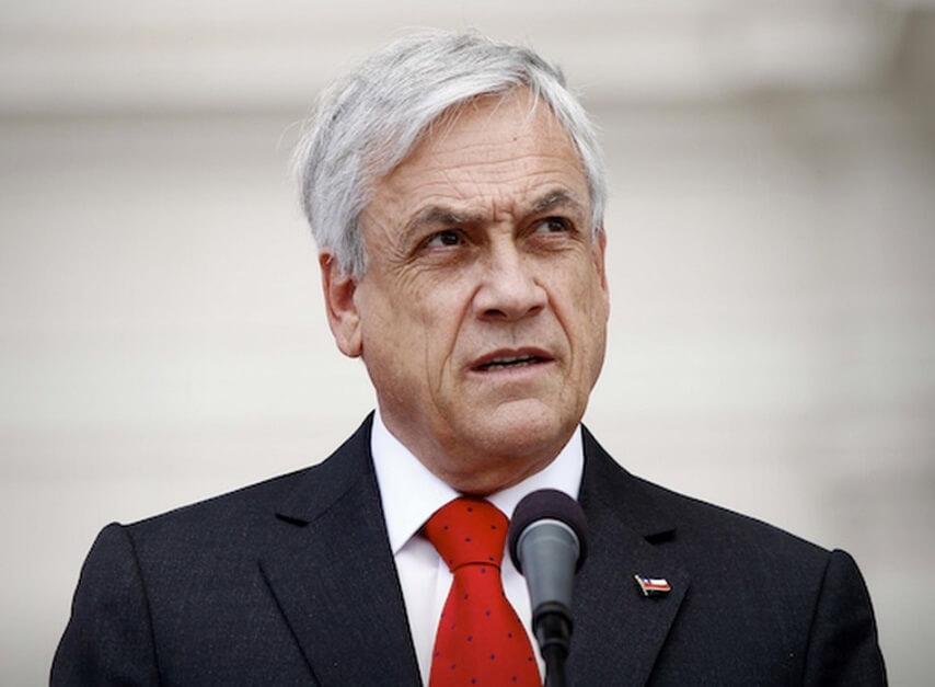 Президентът на Чили Себастиан Пинера
