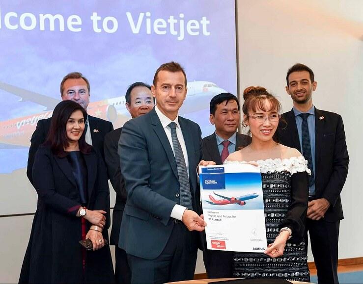 Vietjet orders 20 Airbus A321XLR